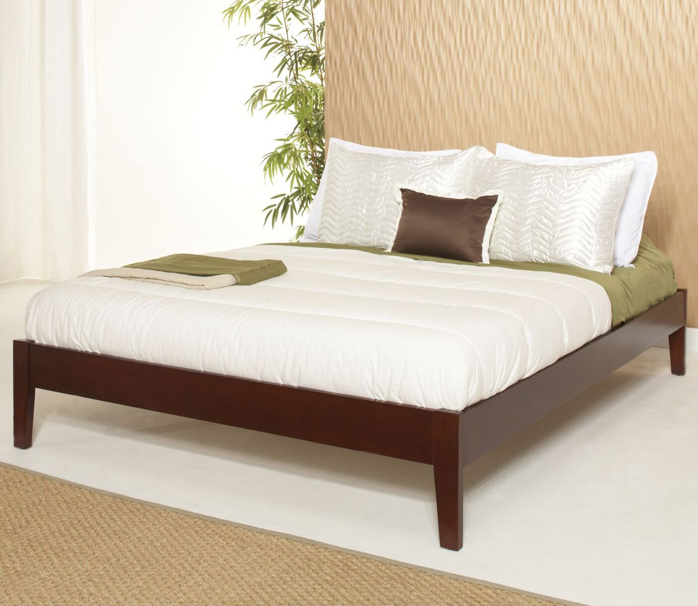 Keevan Platform Bed Color: Cordovan, Size: Twin