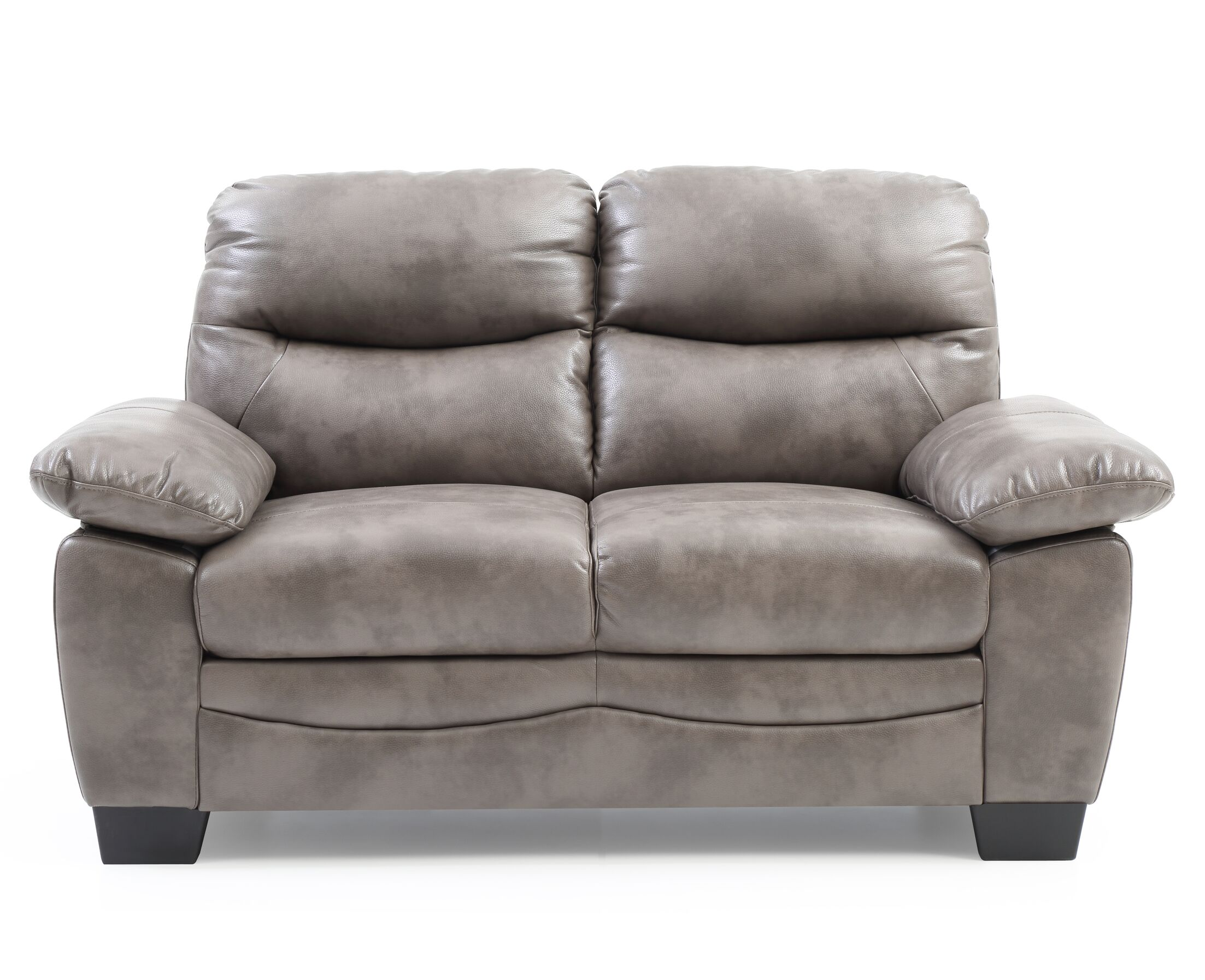 Mcnabb Loveseat Upholstery: Gray