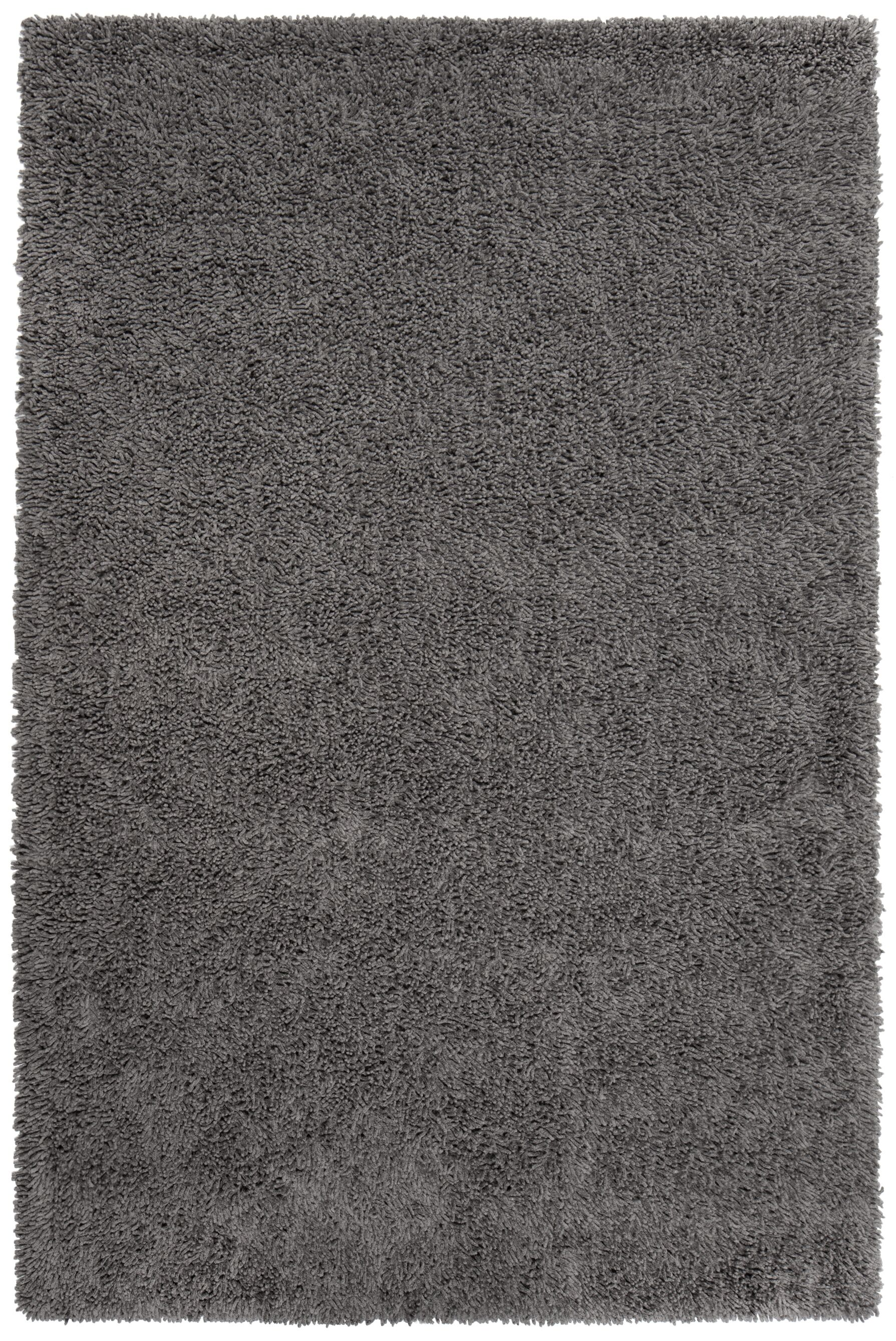 Mcginnis Hand-Tufted Graphite Area Rug Rug Size: 5' x 8'