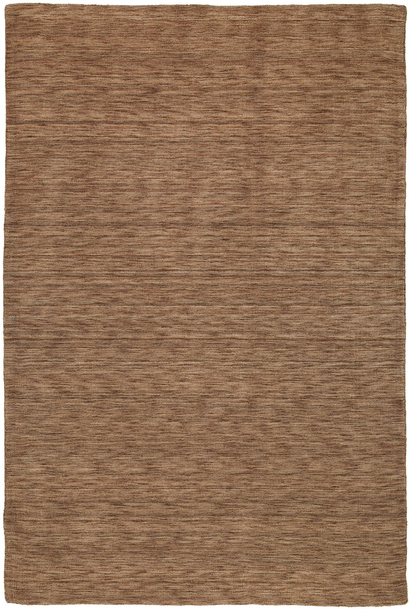 Mccabe Hand Woven Wool Brown Area Rug Rug Size: Rectangle 3' x 5'