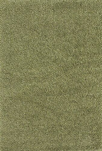 Mazon Tweed Green/Ivory Area Rug Rug Size: Square 8'