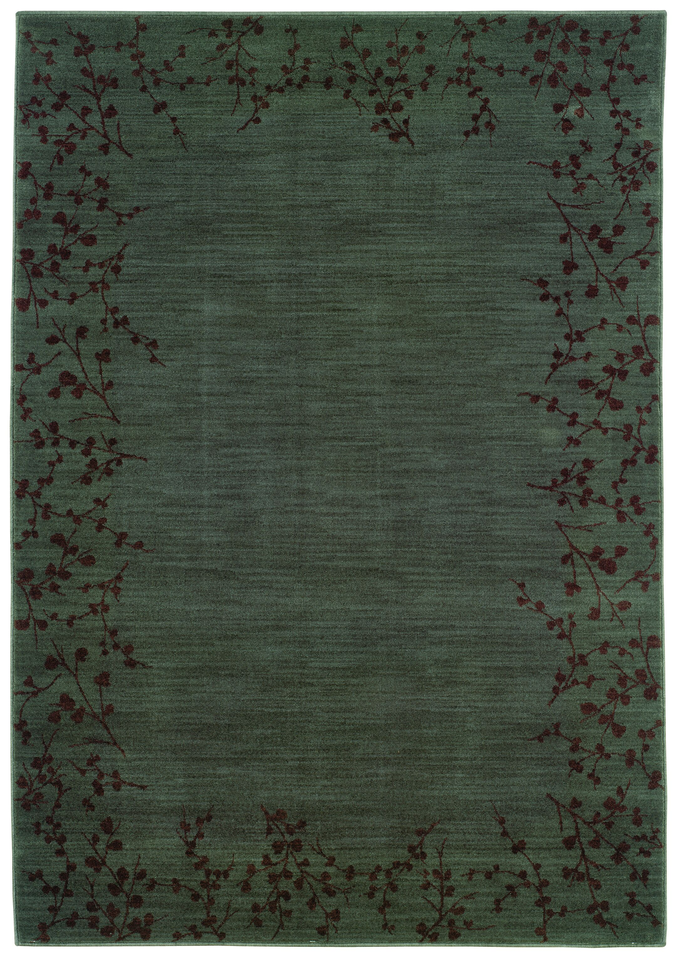 Ryles Blue/Brown Area Rug Rug Size: Rectangle 9'10