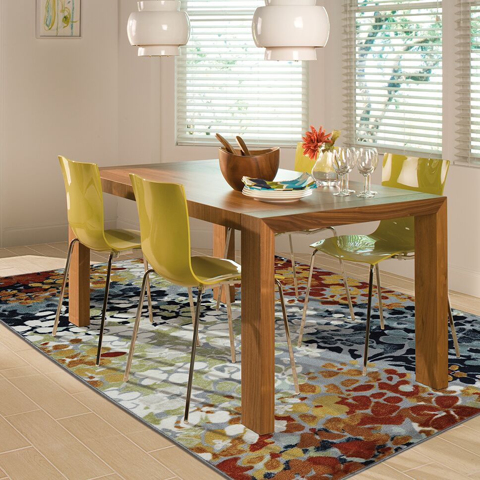 Barton Radiance Printed Area Rug Rug Size: Rectangle 7'6
