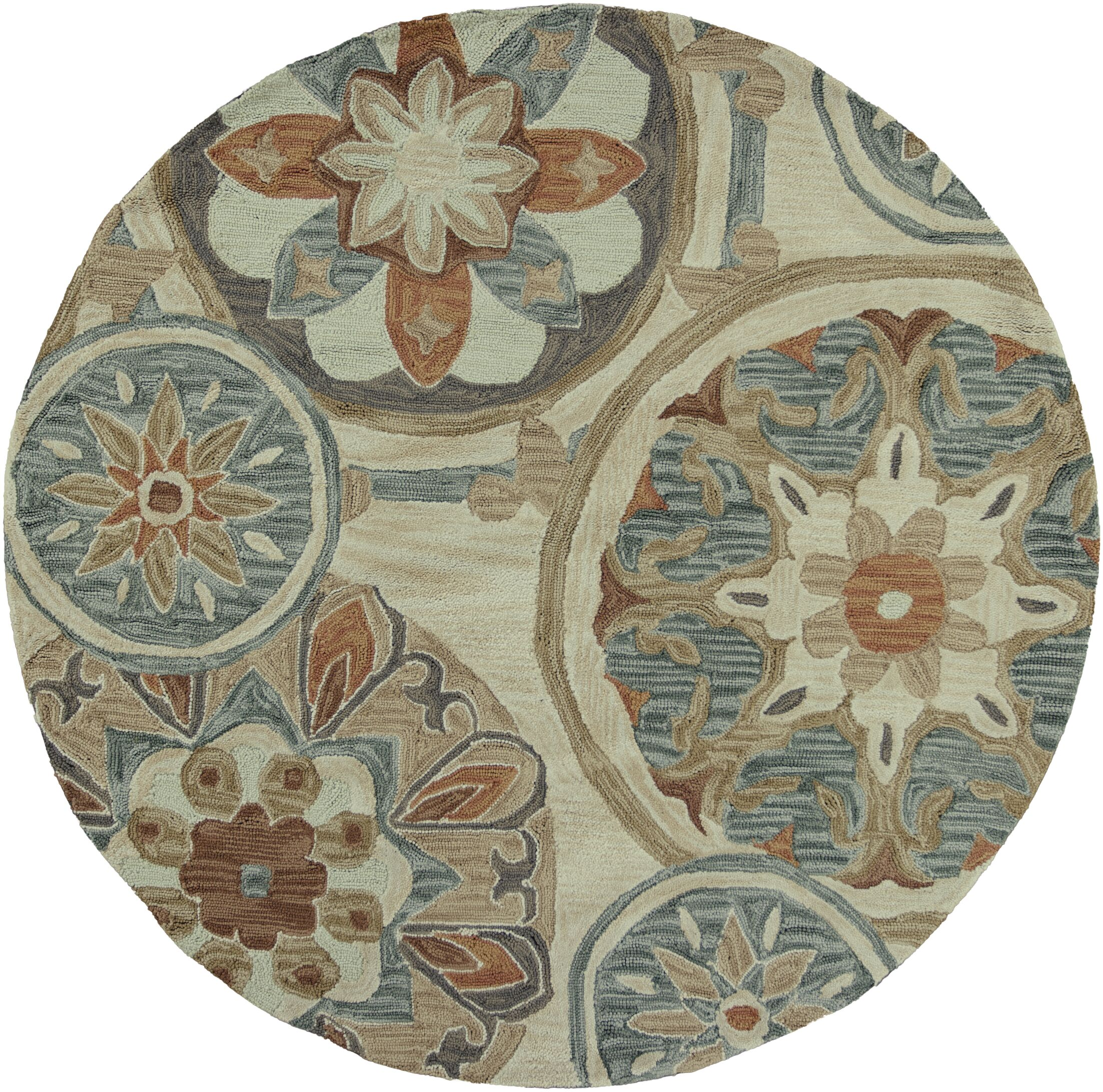 Lager Head Mosaic Tan Area Rug Rug Size: Rectangle 3'3