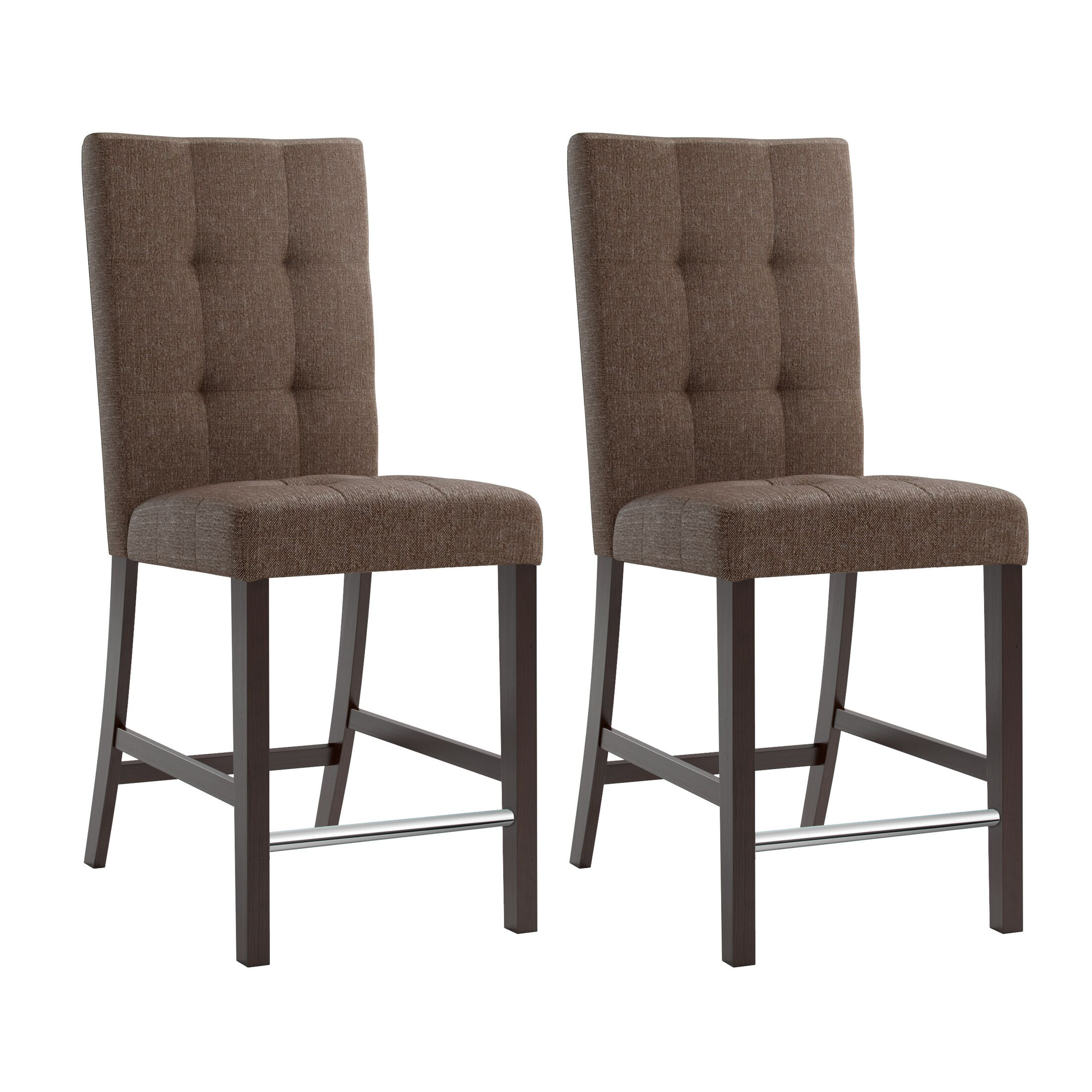 Grayslake Upholstered Dining Chair Upholstery Color: Brown
