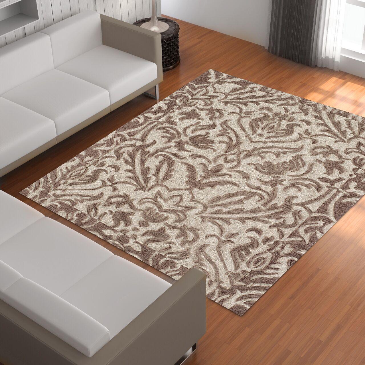 Bryant Khaki Area Rug Rug Size: Rectangle 8' x 10'