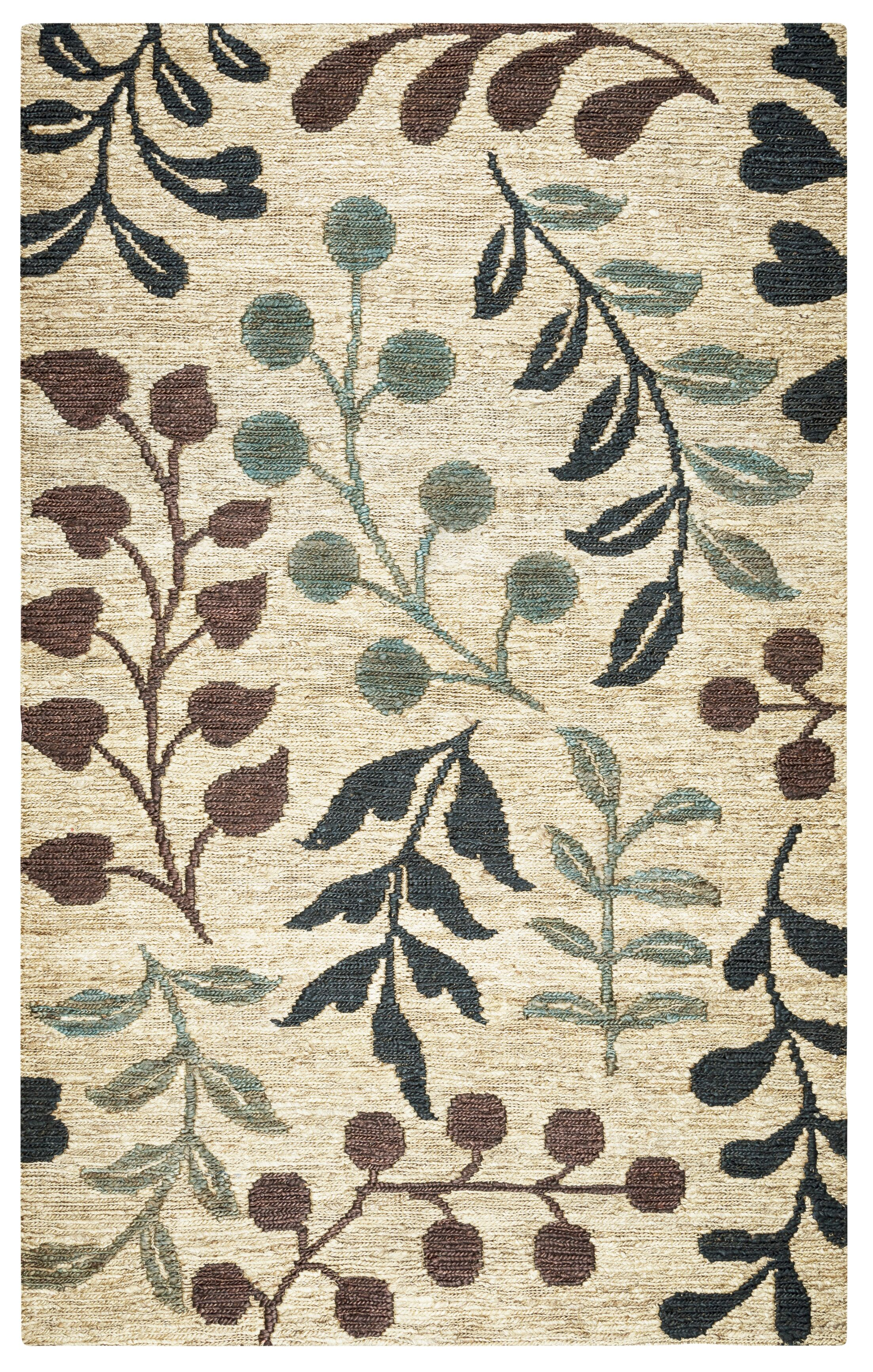 Barrett Hand-Woven Natural Area Rug Size: Rectangle 3' x 5'