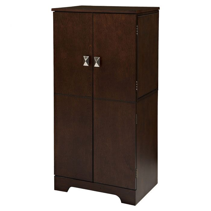 Busch Jewelry Armoire with Mirror