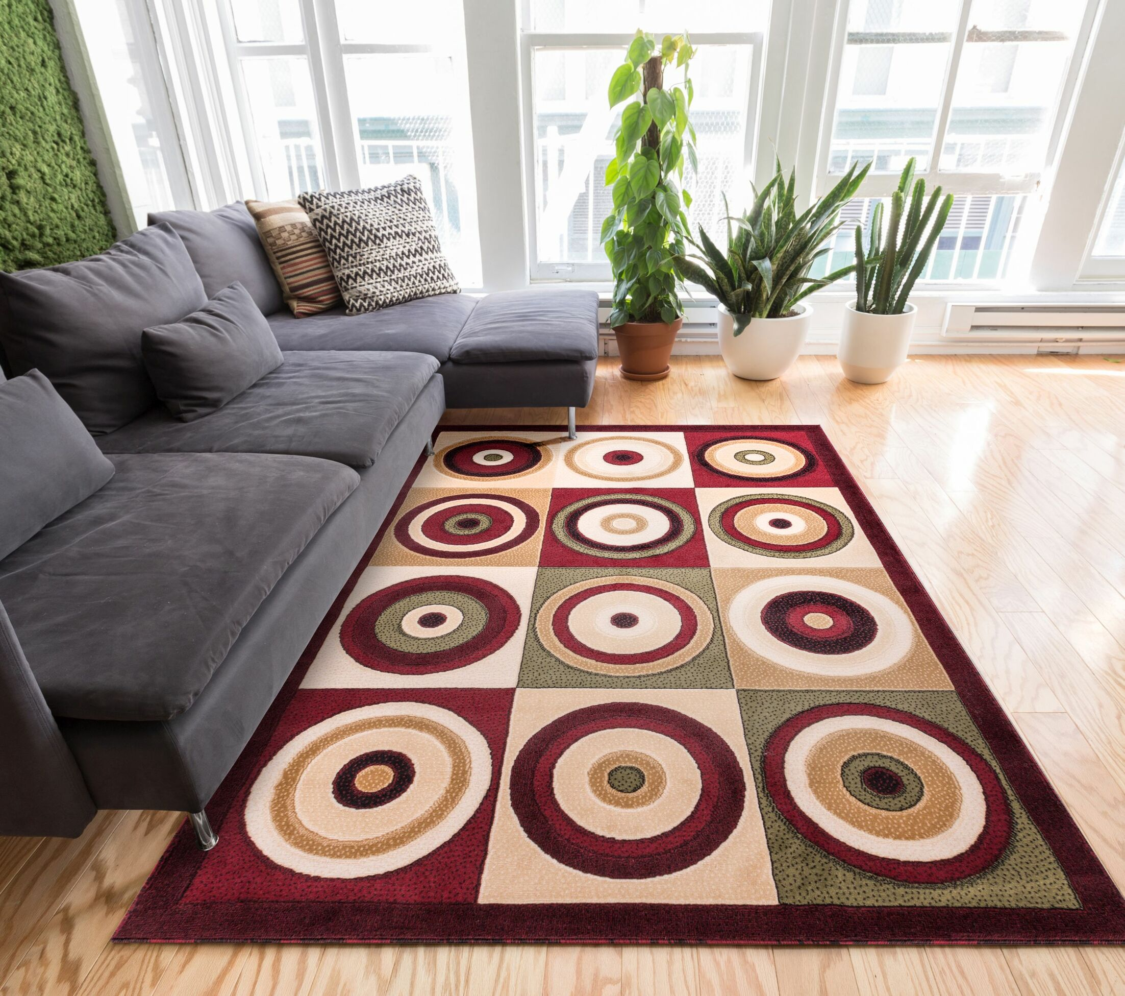 Waterville Area Rug Rug Size: 7'10