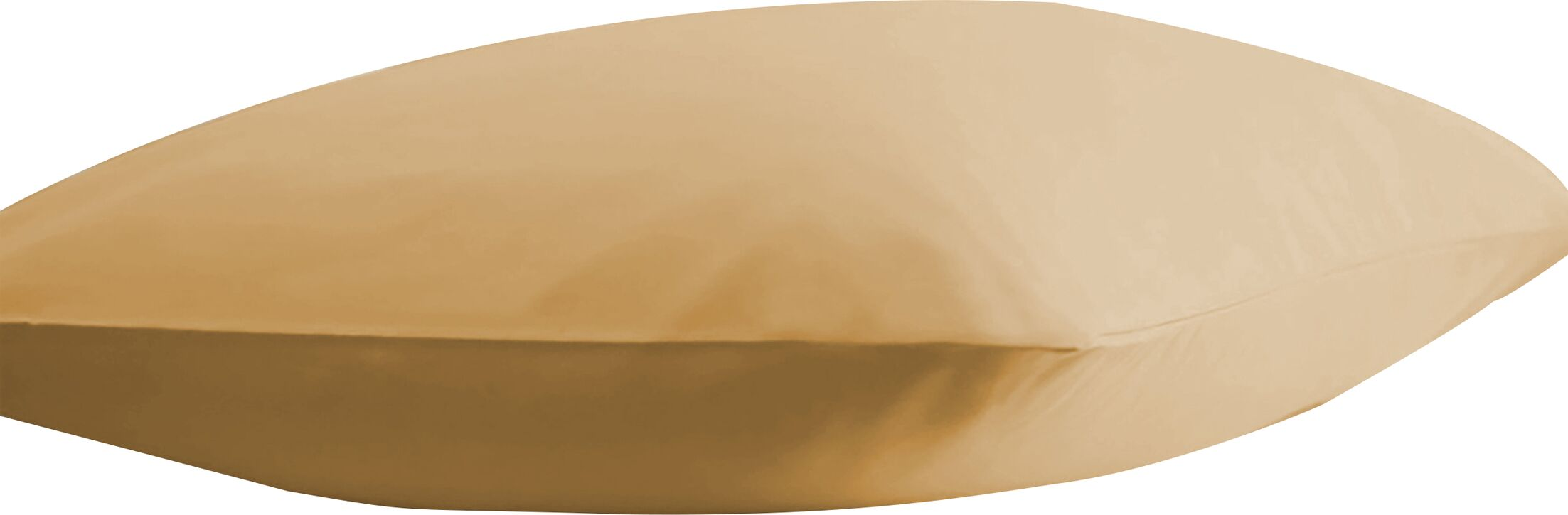 Dutra Ultra Soft Pillow Case Color: Gold, Size: King