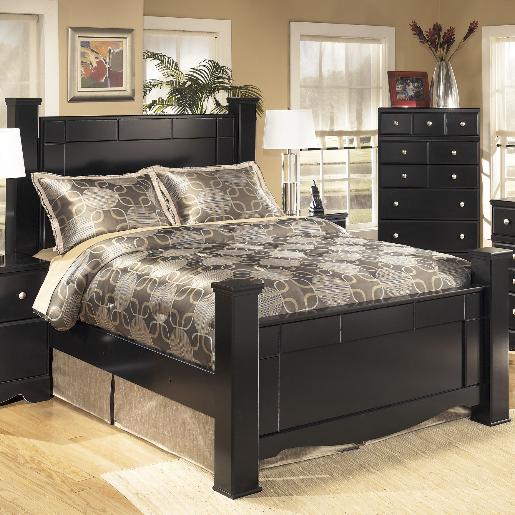 Cannonball Way Panel Bed