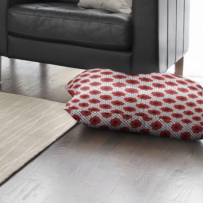 Daponte Indoor/Outdoor Floor Pillow Size: 26