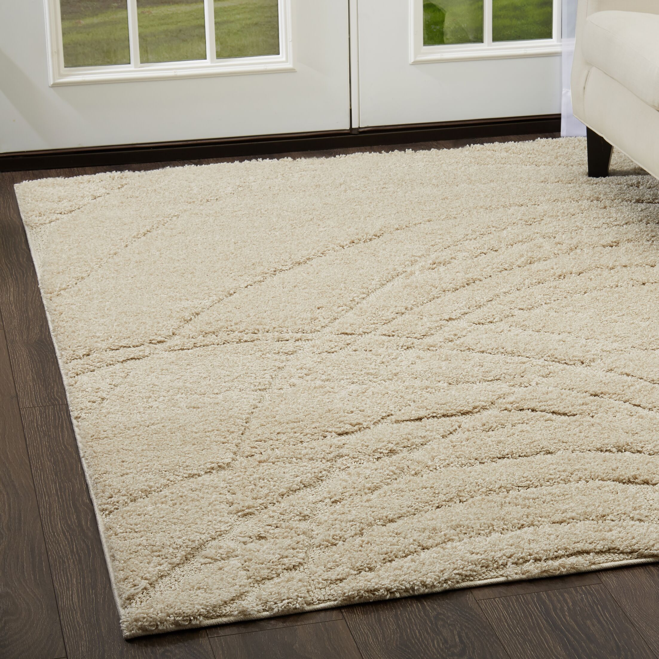 Quince Beige Area Rug Rug Size: Rectangle 7'10