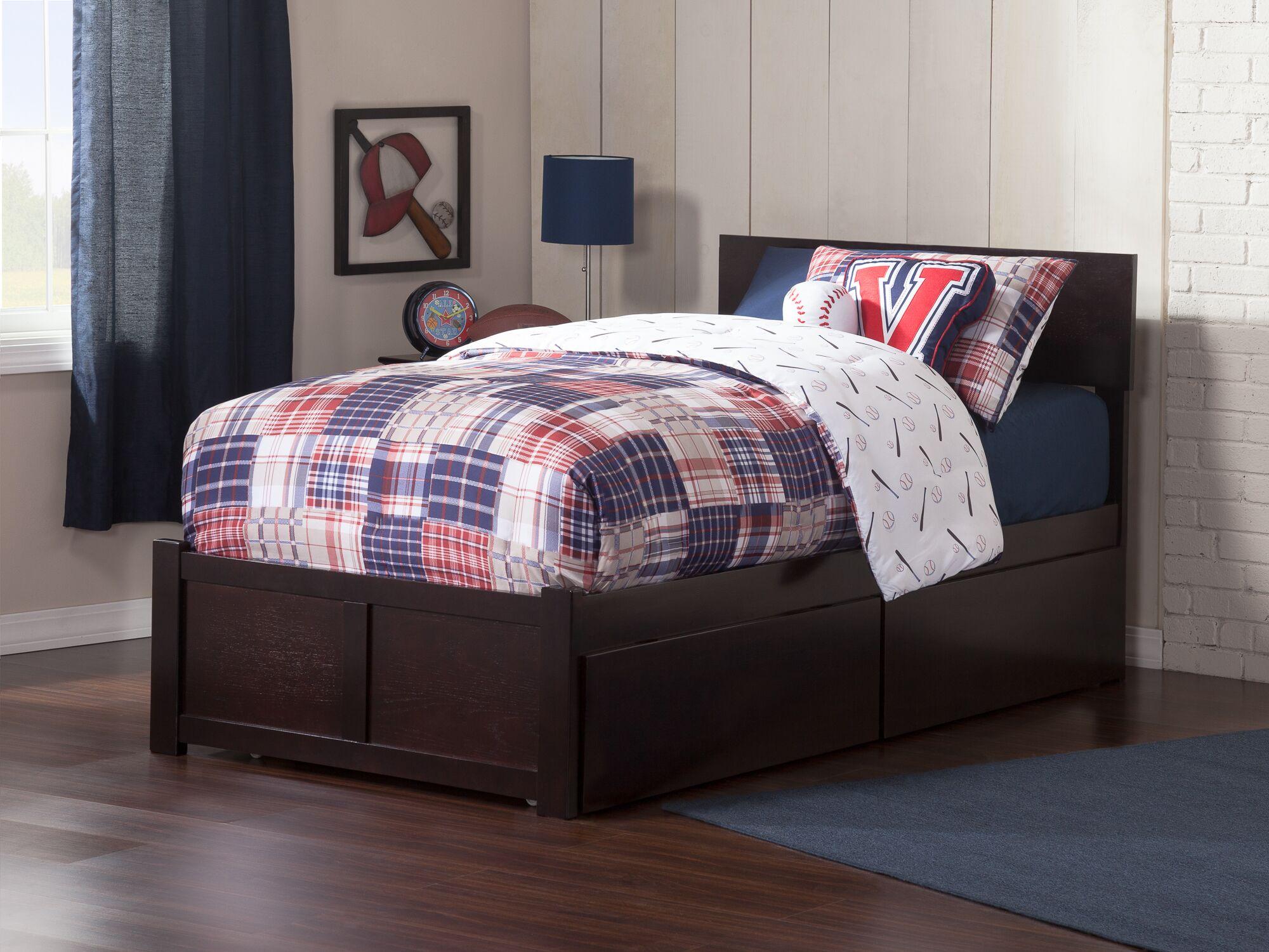 Wrington Storage Platform Bed Color: Espresso, Size: Full