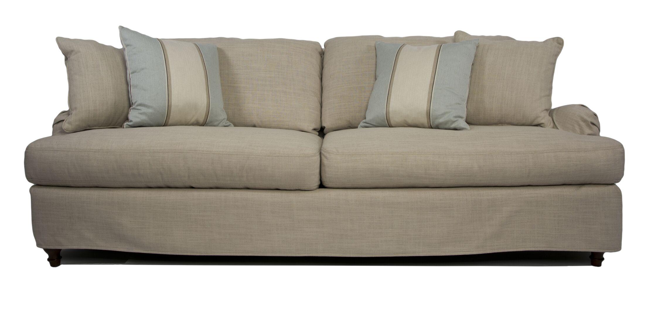 Seacoast T-Cushion Sofa Slipcover Set