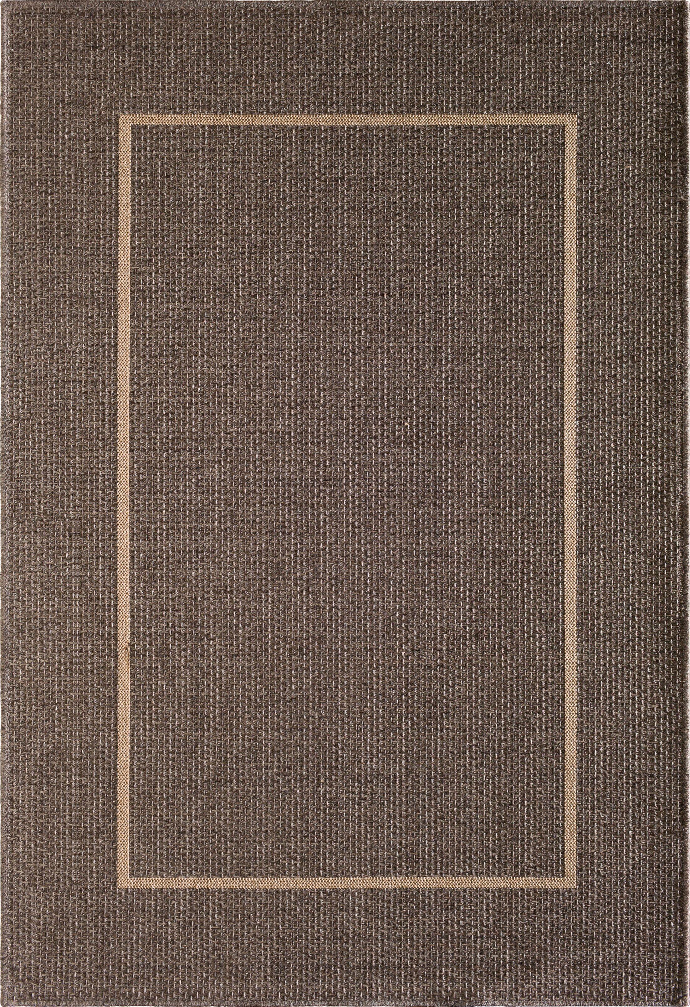 Annica Gray Indoor/Outdoor Area Rug Rug Size: 8'8