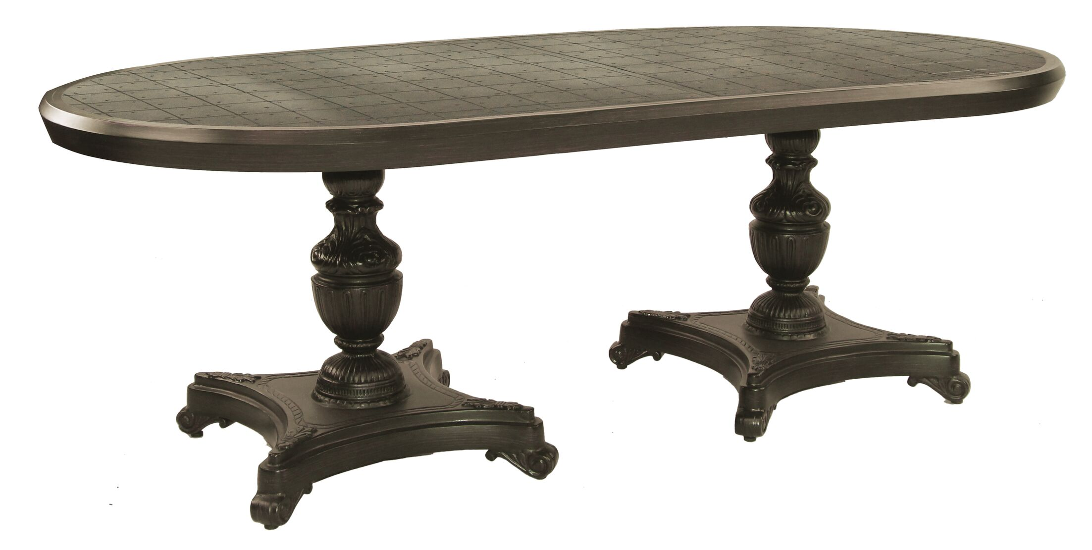 Tuscan Aluminum Dining Table