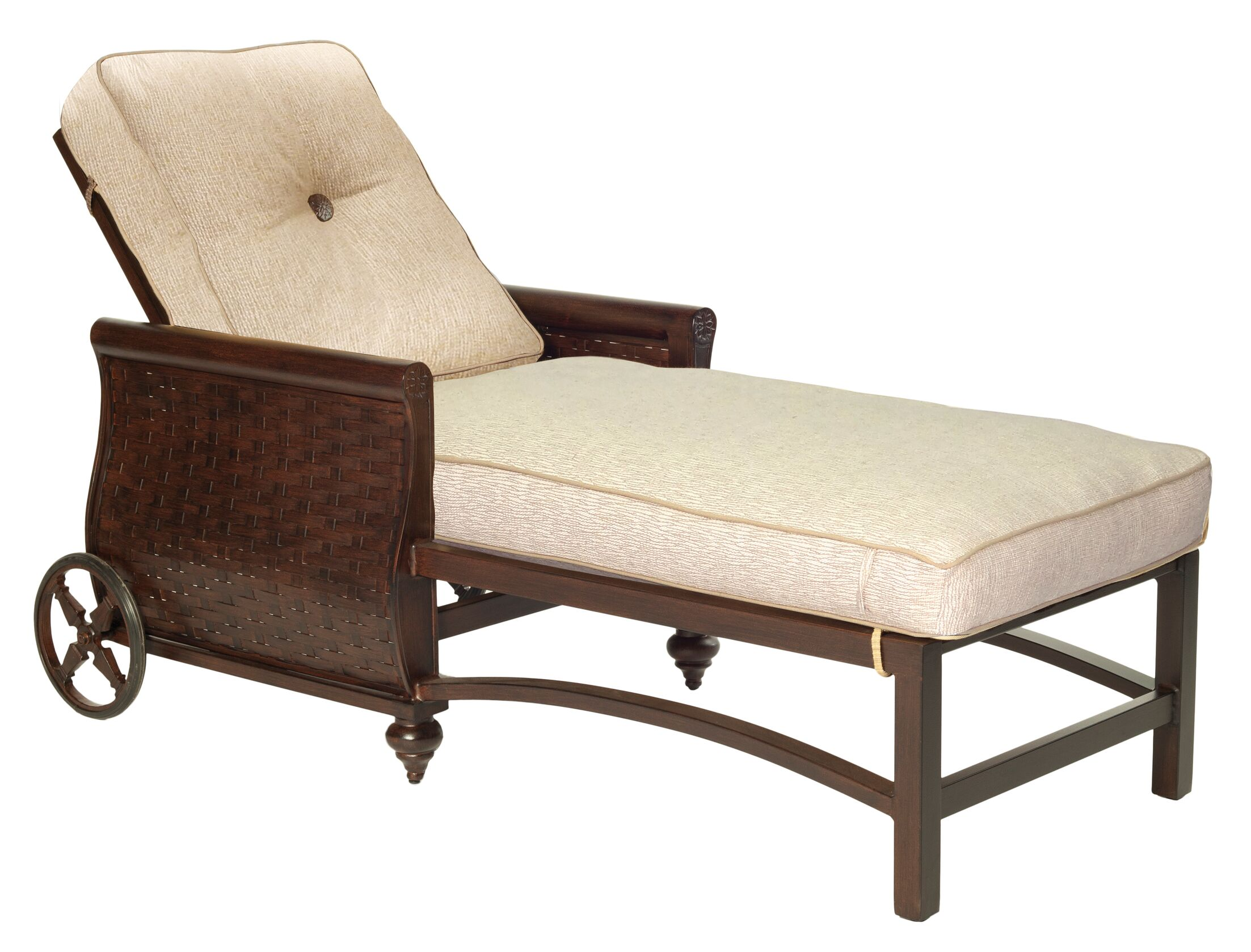 French Quarter Chaise Lounge with Cushion