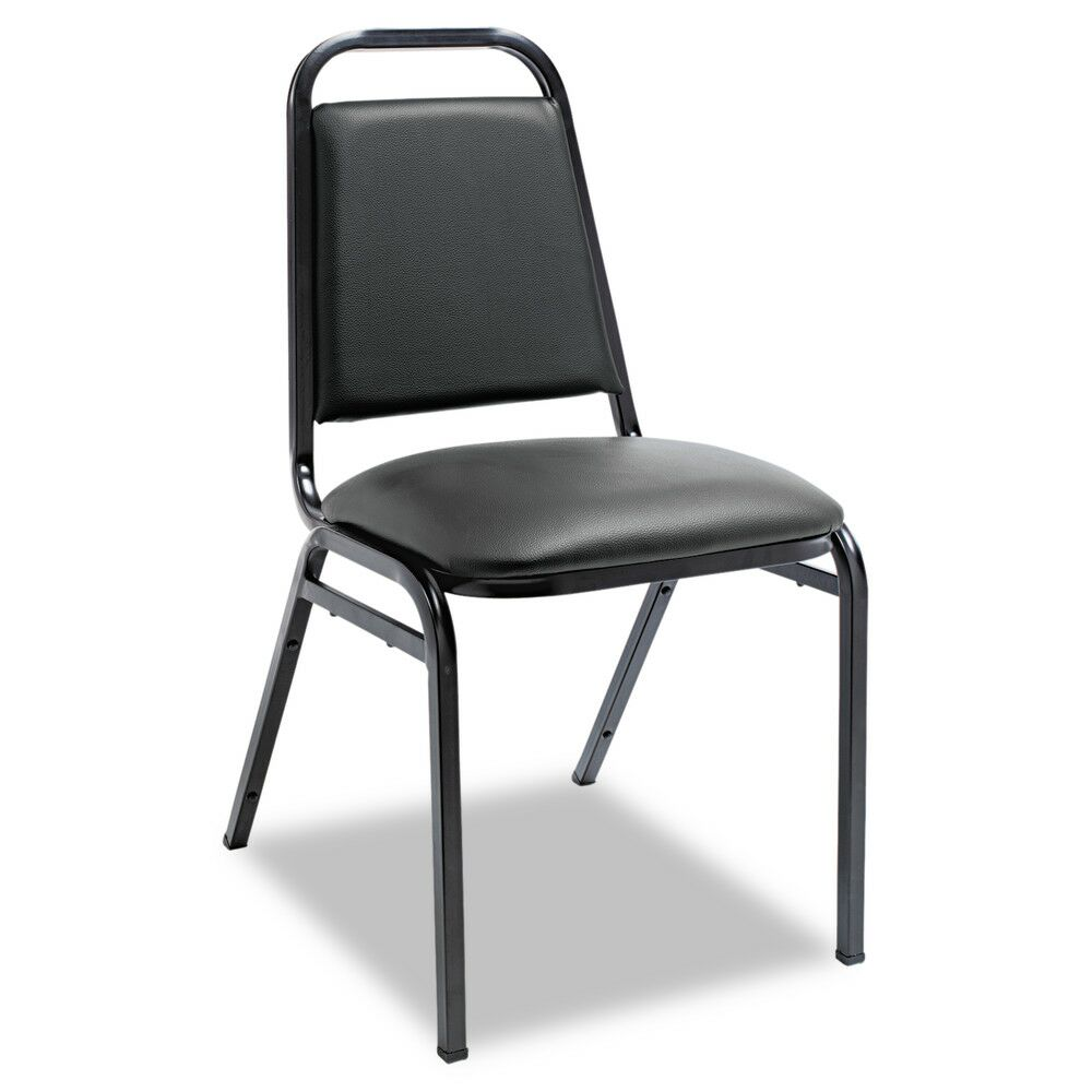 Upholstered Stacking Guest Chair Seat Finish: Blue Vinyl