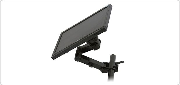 Swivel LCD Extension Arm Wall Mount for 13