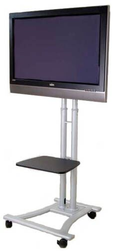 Mobile LCD / Plasma Television Fixed Floor Stand Mount for 60