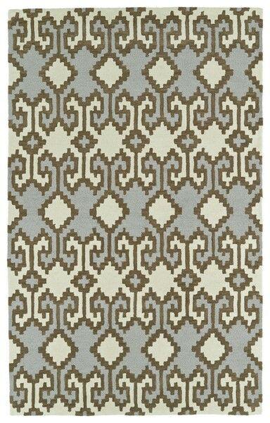 Hinton Charterhouse Hand-Tufted Ivory Area Rug Rug Size: Rectangle 9' x 12'