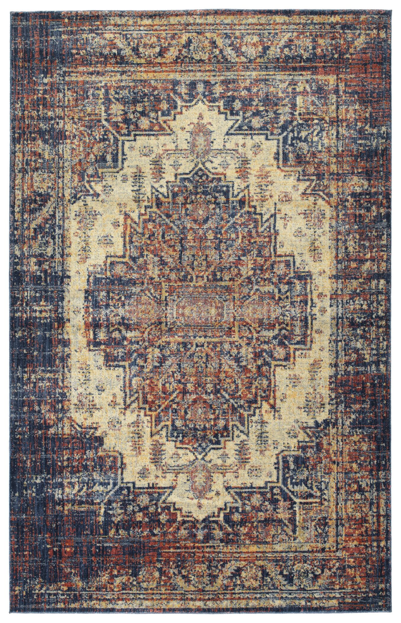 Lyonsdale Linen Area Rug Rug Size: Rectangle 9'2