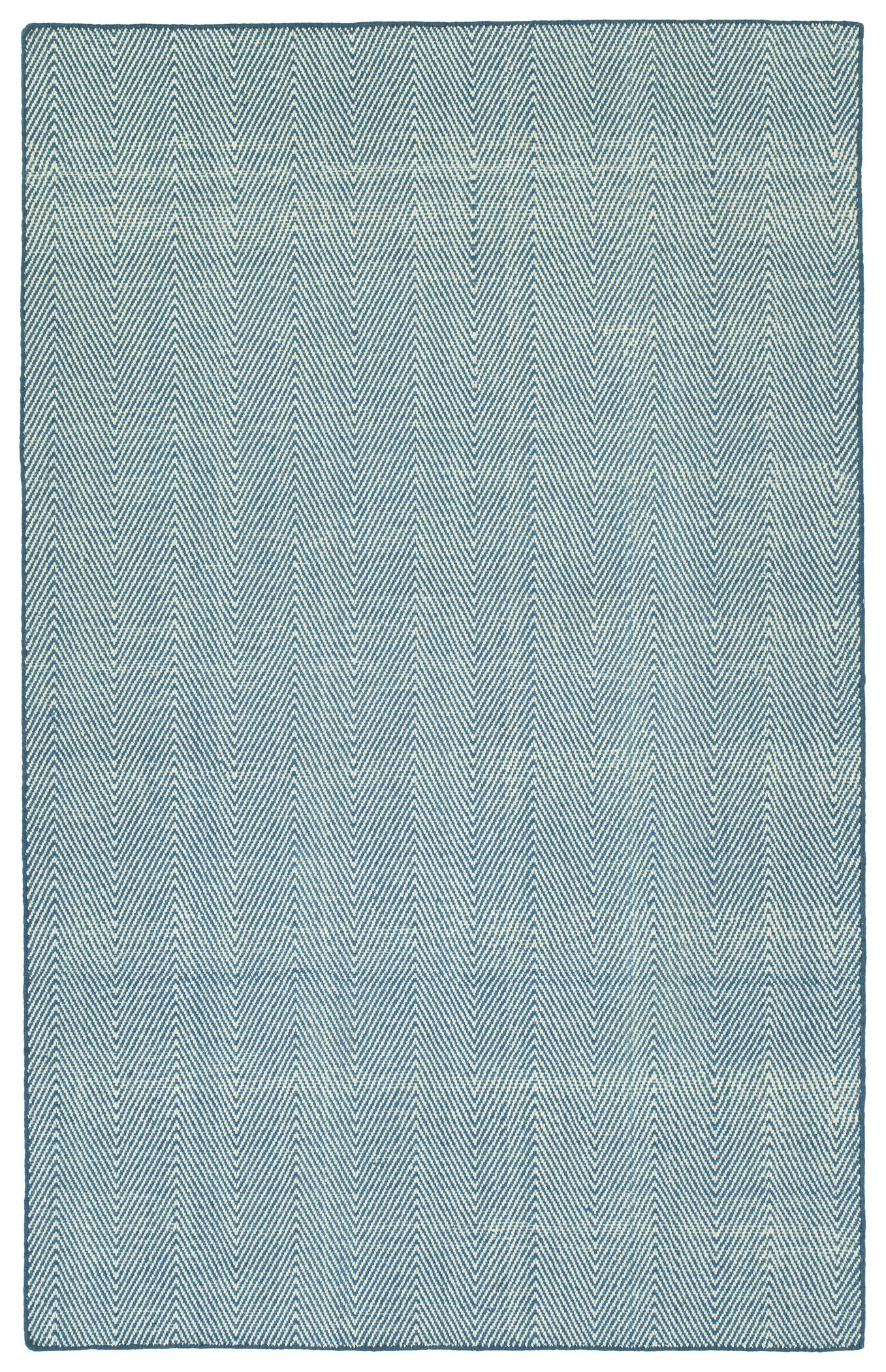 Buell Hand Woven Denim Indoor/Outdoor Area Rug Size: Rectangle 8' x 10'
