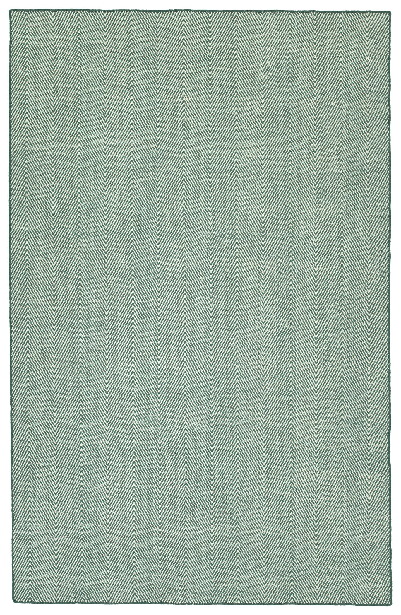 Buell Hand Woven Teal Indoor/Outdoor Area Rug Rug Size: Rectangle 5' x 7'6