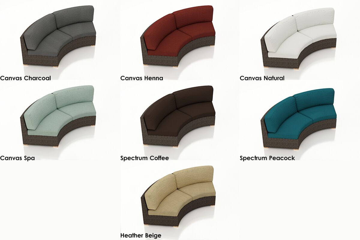 Arden Loveseat with Cushions Color: Canvas Flax