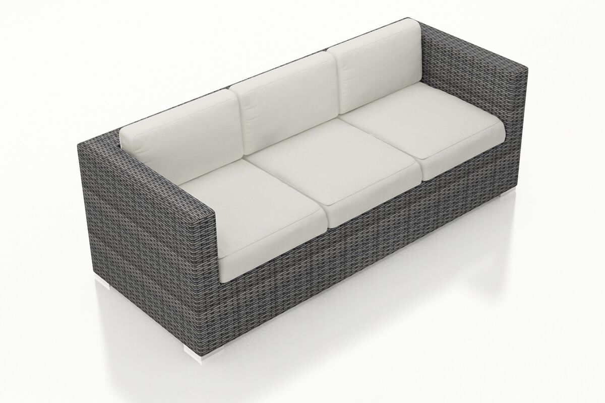 District Patio Sofa with Cushions Color: Canvas Natural