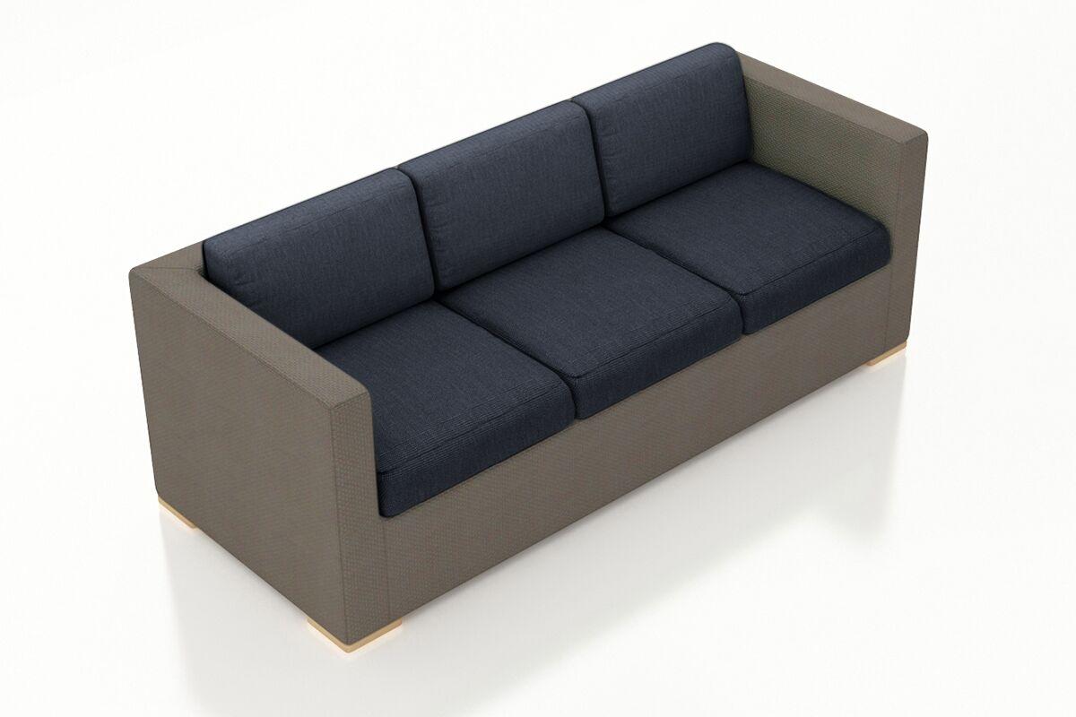 Element Sofa with Cushions Color: Spectrum Indigo