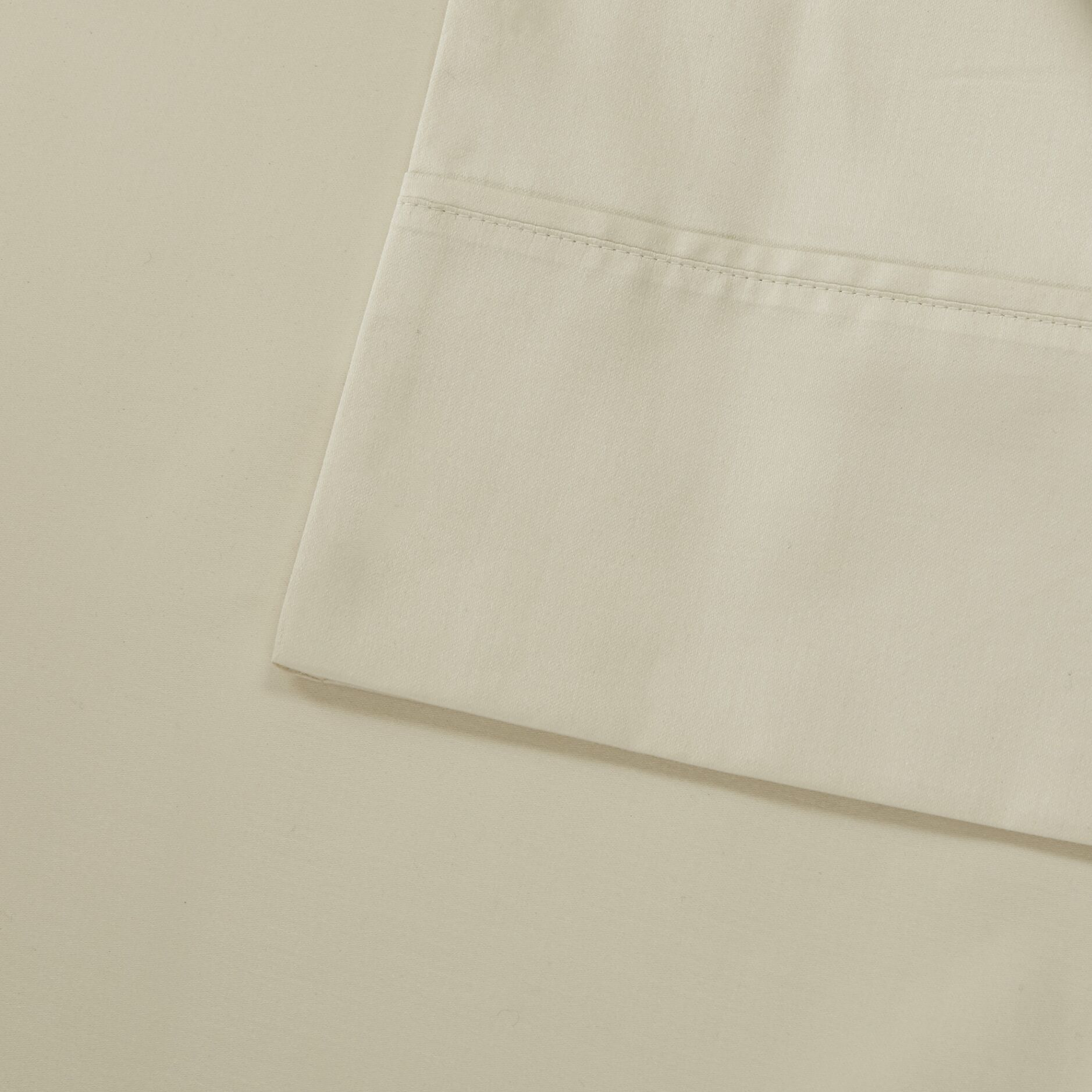 Oversized 600 Thread Count 100% Cotton Sheet Set Size: Queen, Color: Ivory