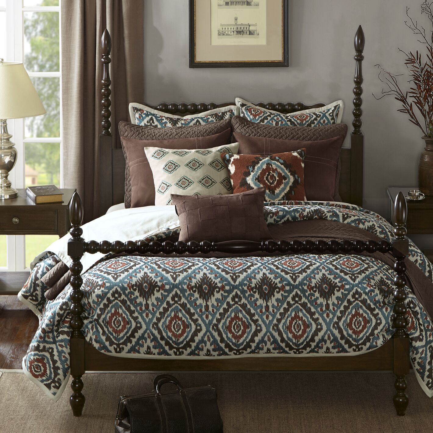 Beckett Four Poster Bed Size: King