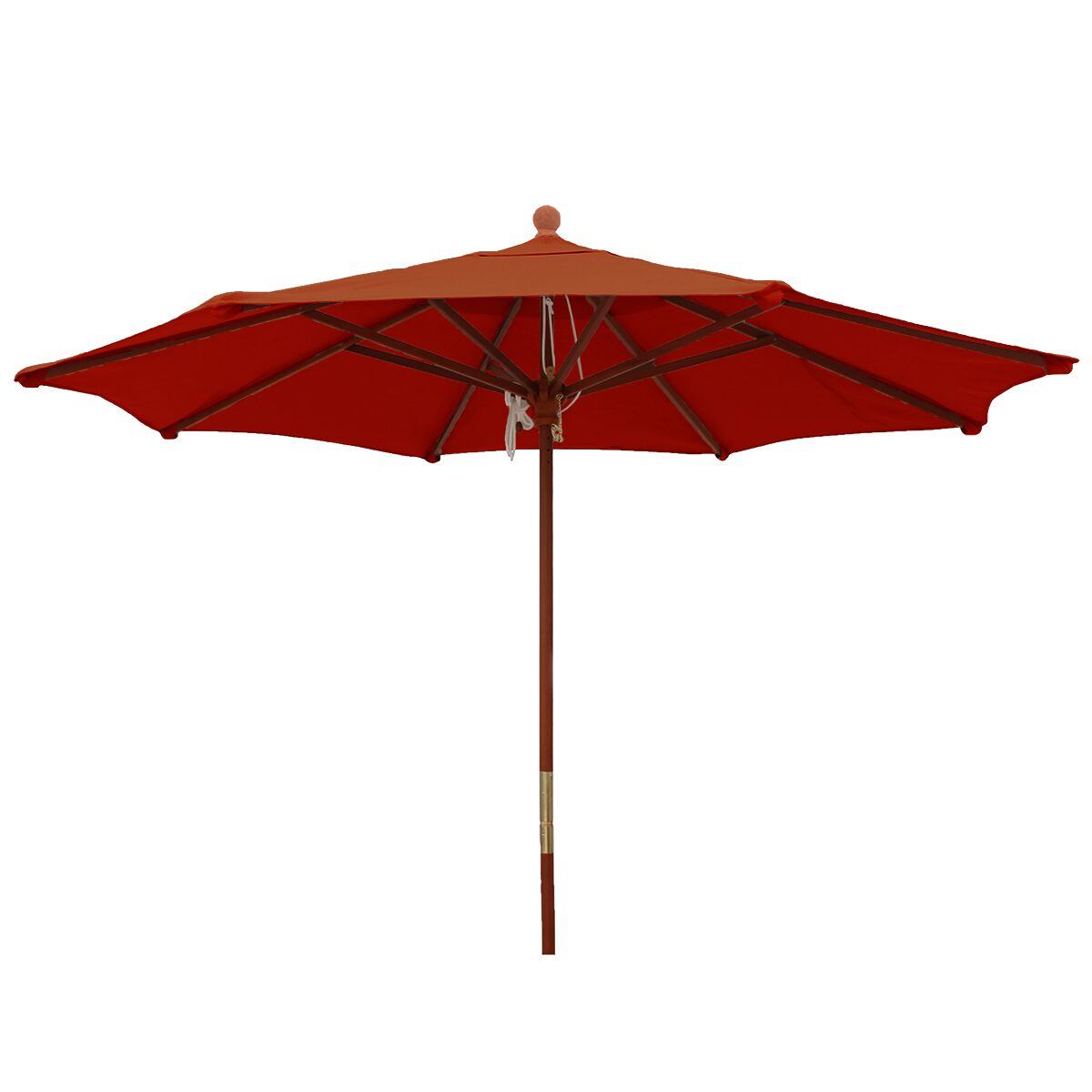 9' Market Umbrella Color: Brick