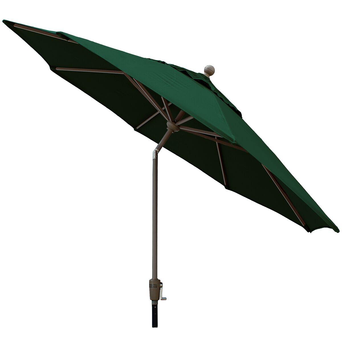 Sunbrella 9' Market Umbrella Color: Forest Green