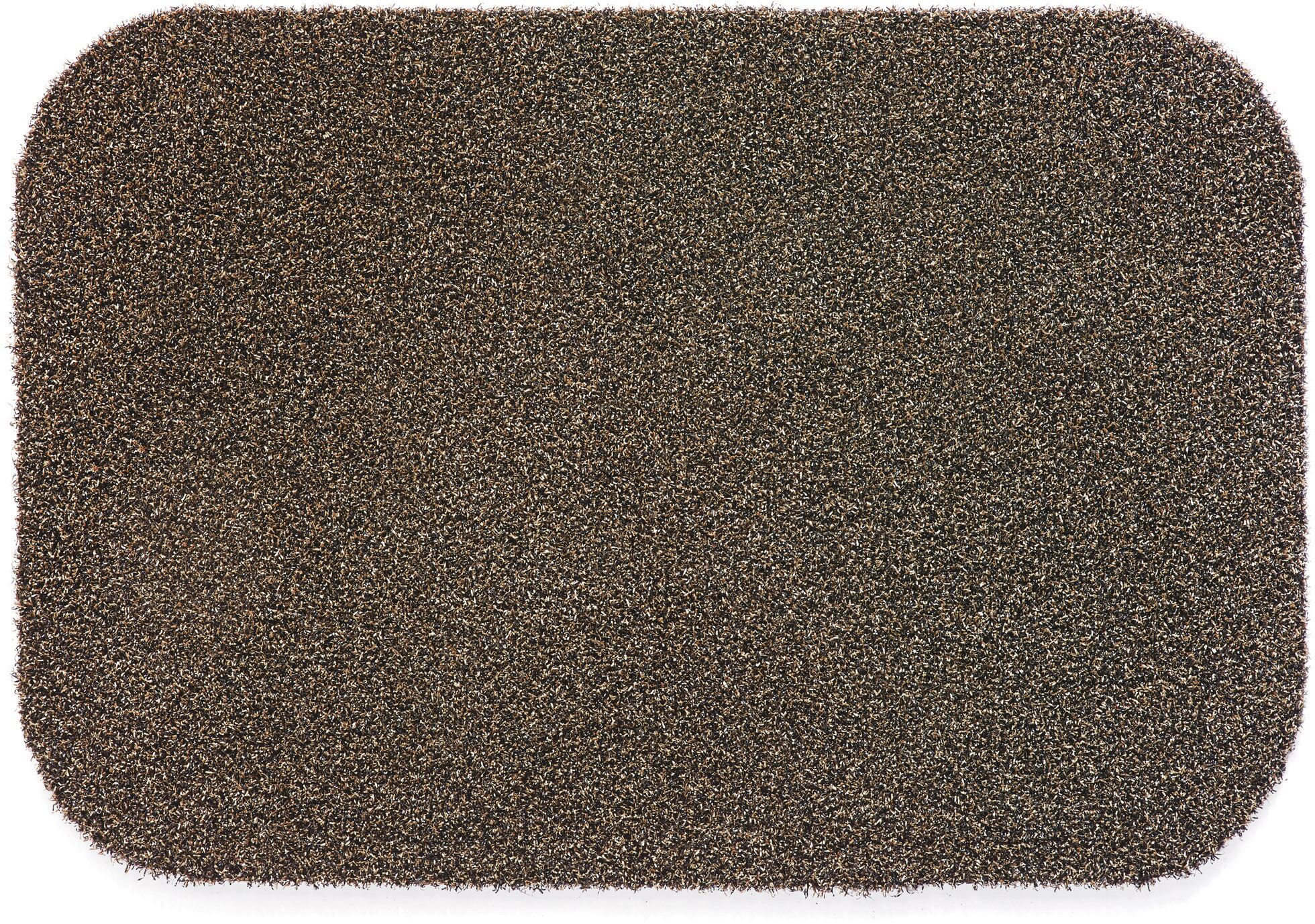 Muddle Mat Doormat Color: Coffee, Mat Size: Rectangle 1'11.5