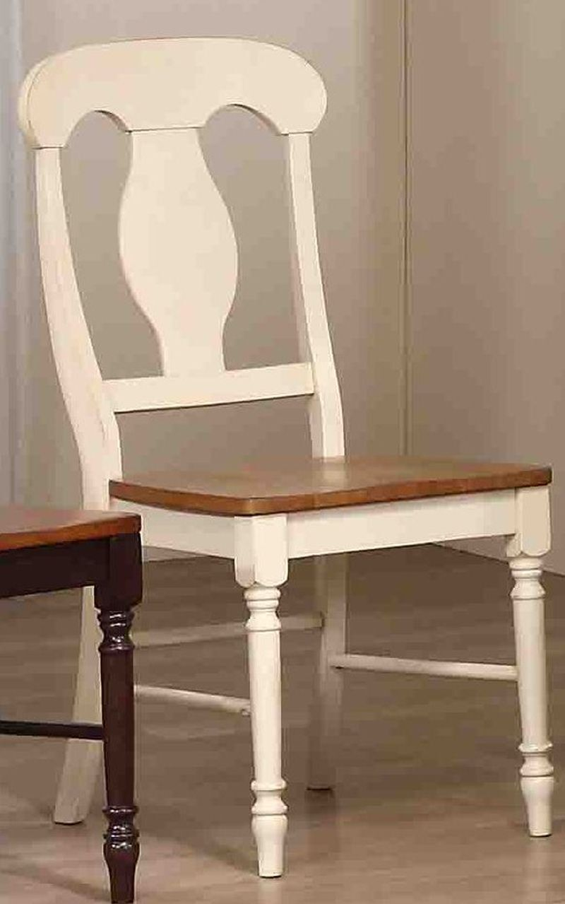 Napoleon Solid Wood Dining Chair Finish: Caramel / Biscotti