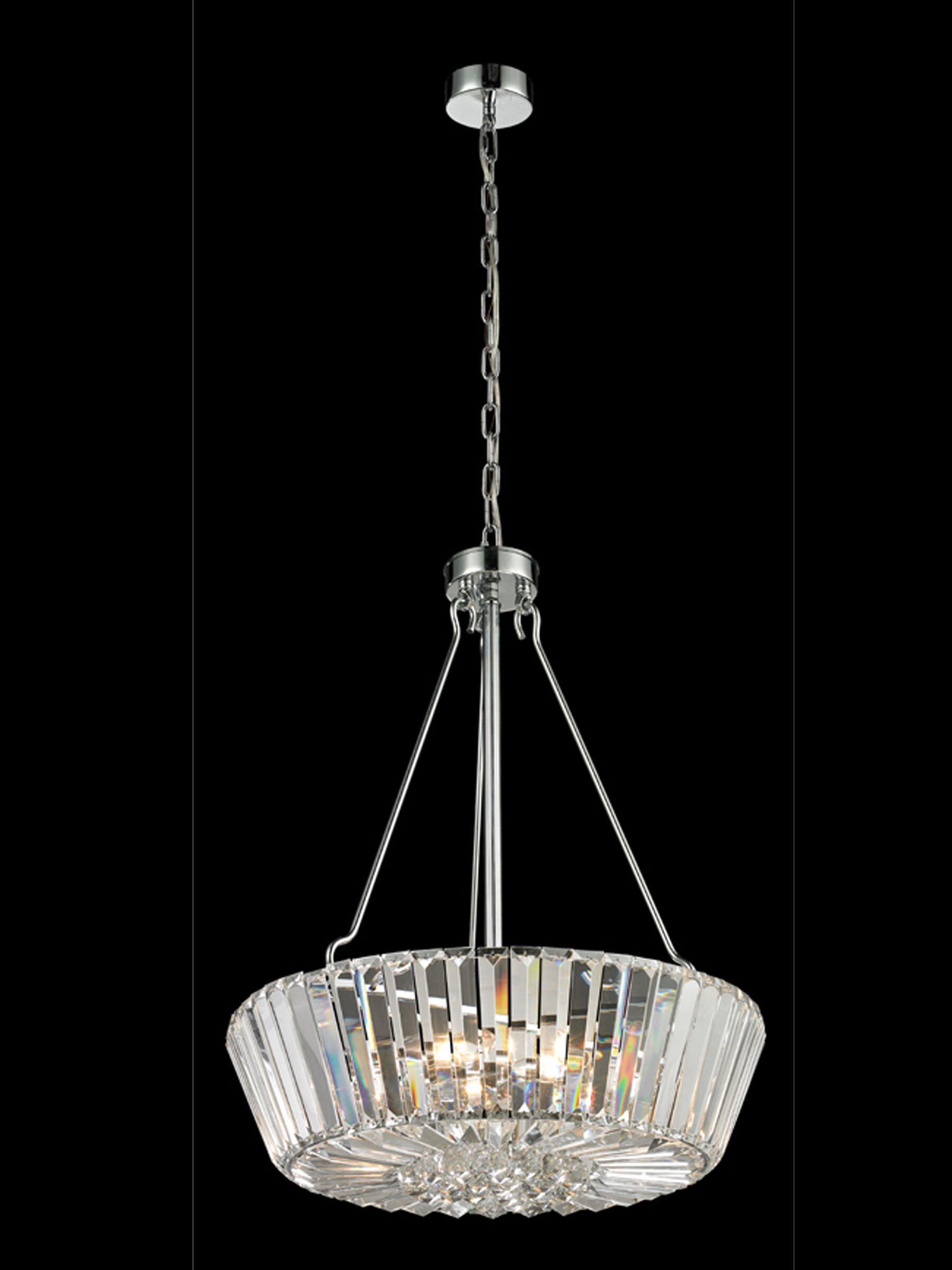 Dunham 5-Light Crystal Chandelier