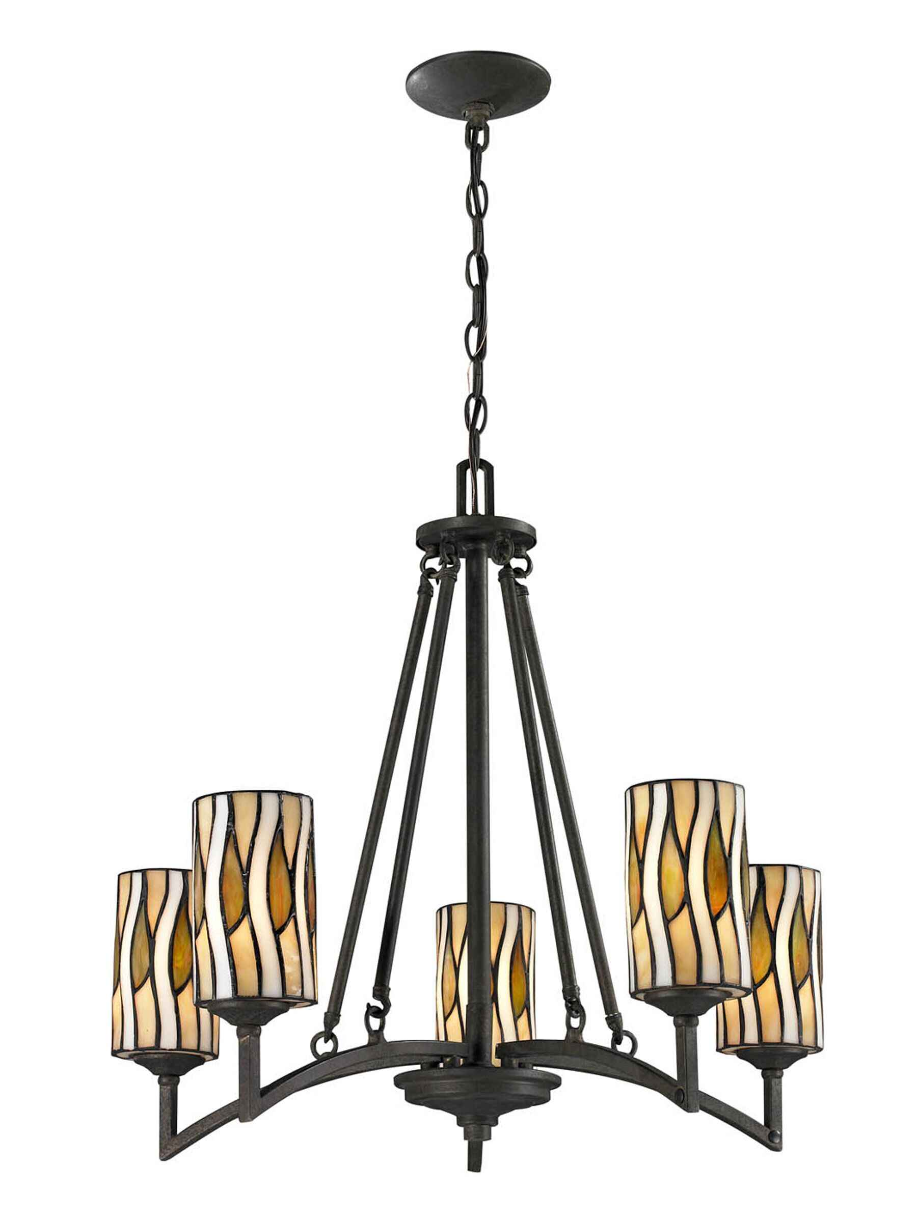 Russia 5-Light Shaded Chandelier