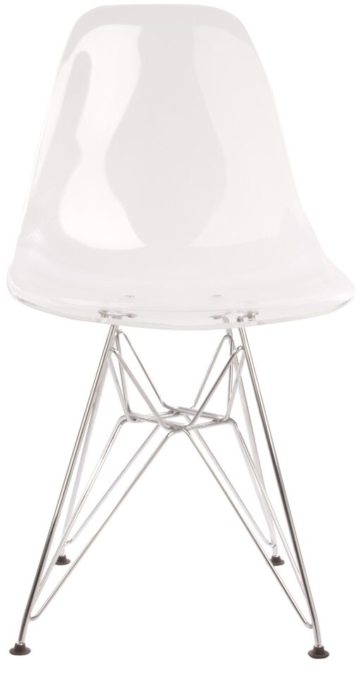 Side Chair Finish: Clear