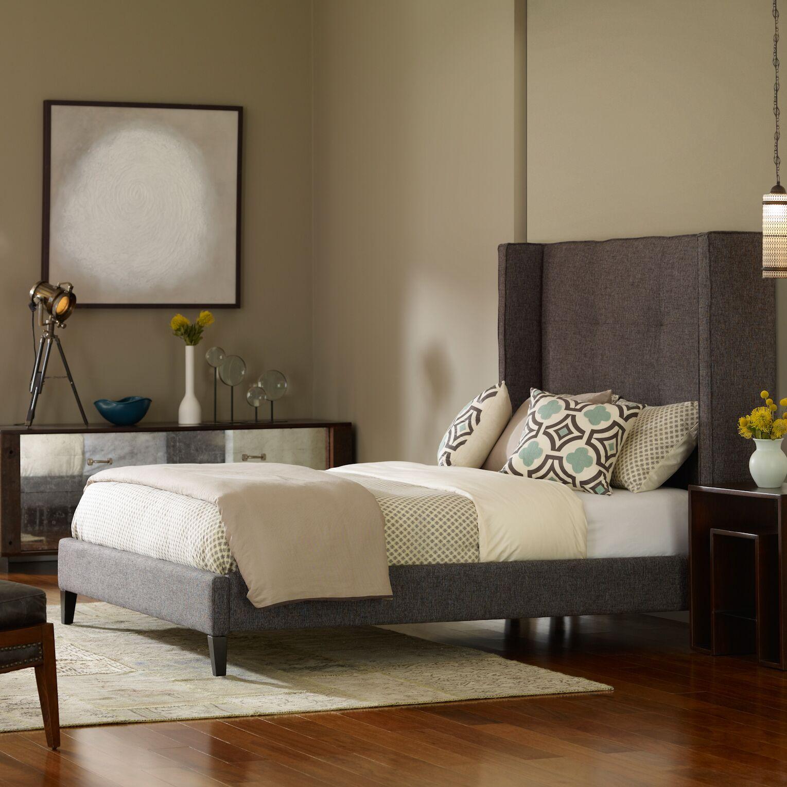 Columbus Upholstered Platform Bed Size: King