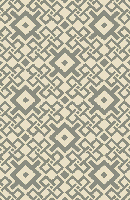 Aura Beige/Moss Indoor/Outdoor Area Rug Rug Size: Rectangle 8' x 10'6