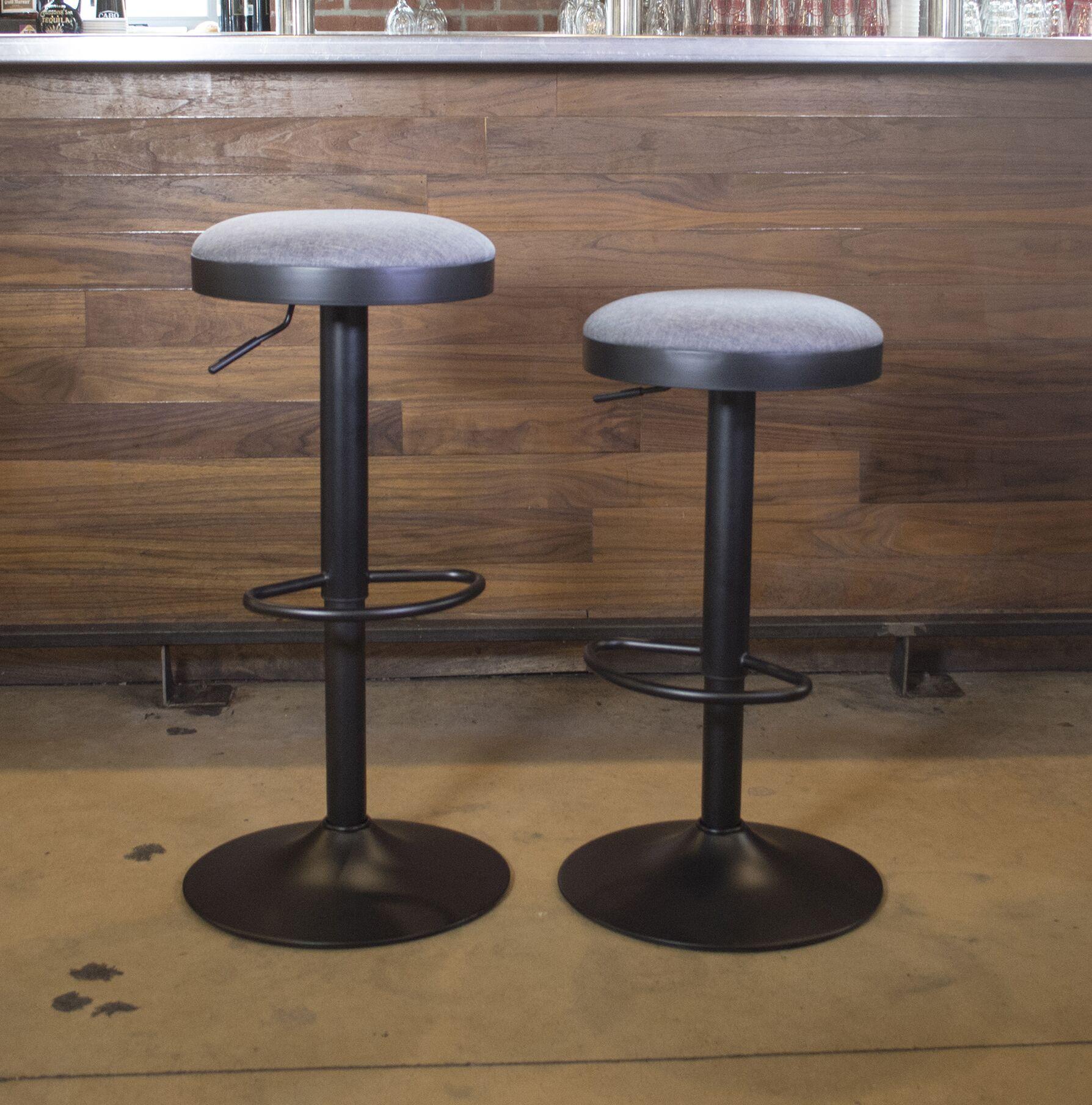 Classic Adjustable Height Swivel Bar Stool