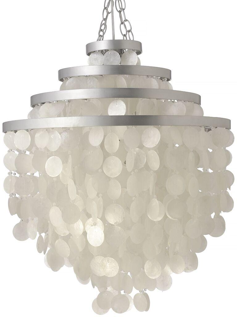 Capiz Seashell 2-Light Novelty Chandelier Shade Color: Natural White