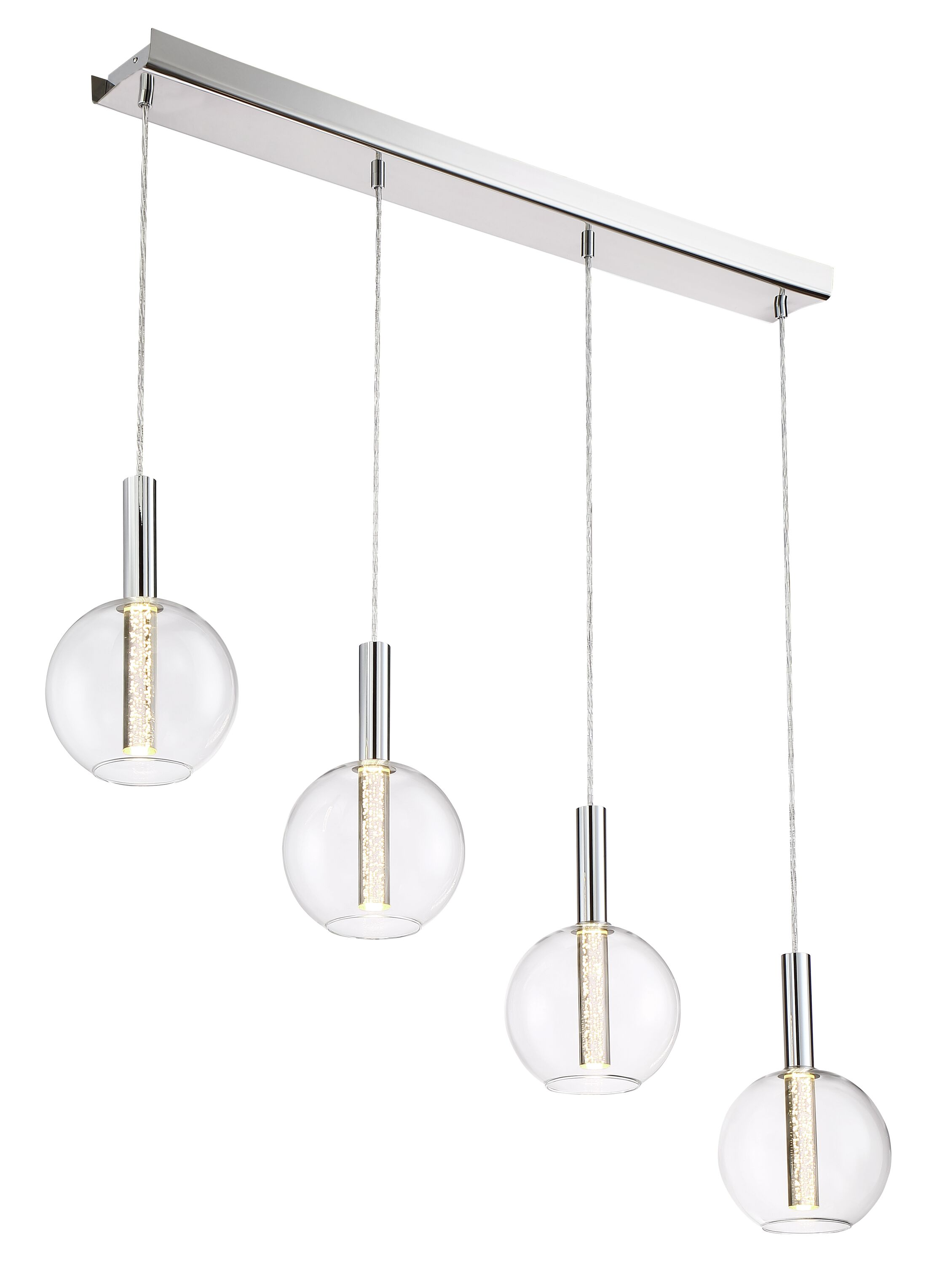 Sprouse 4-Light  LED  Pendant