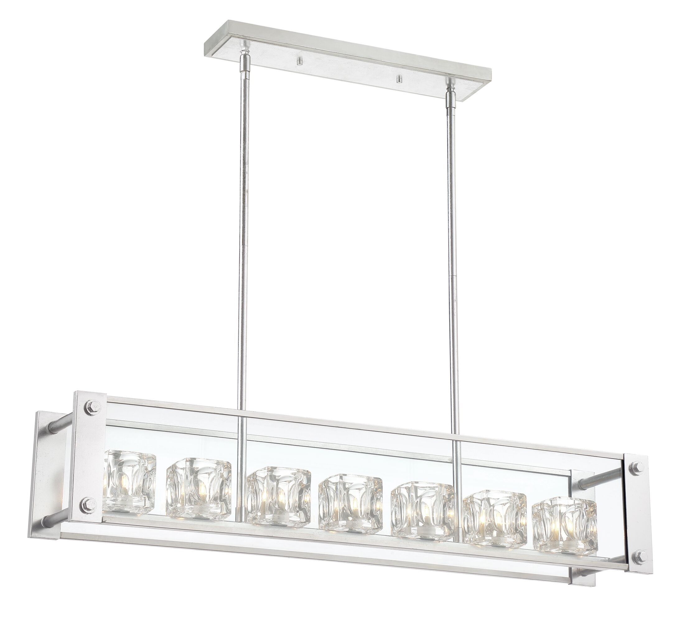 Artrip 7-Light Kitchen Island Pendant