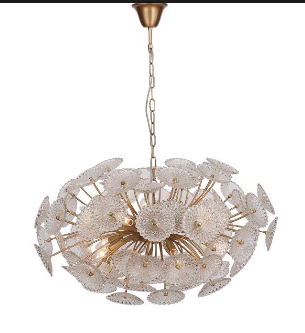 Gerken Floral 10-Light Sputnik Chandelier