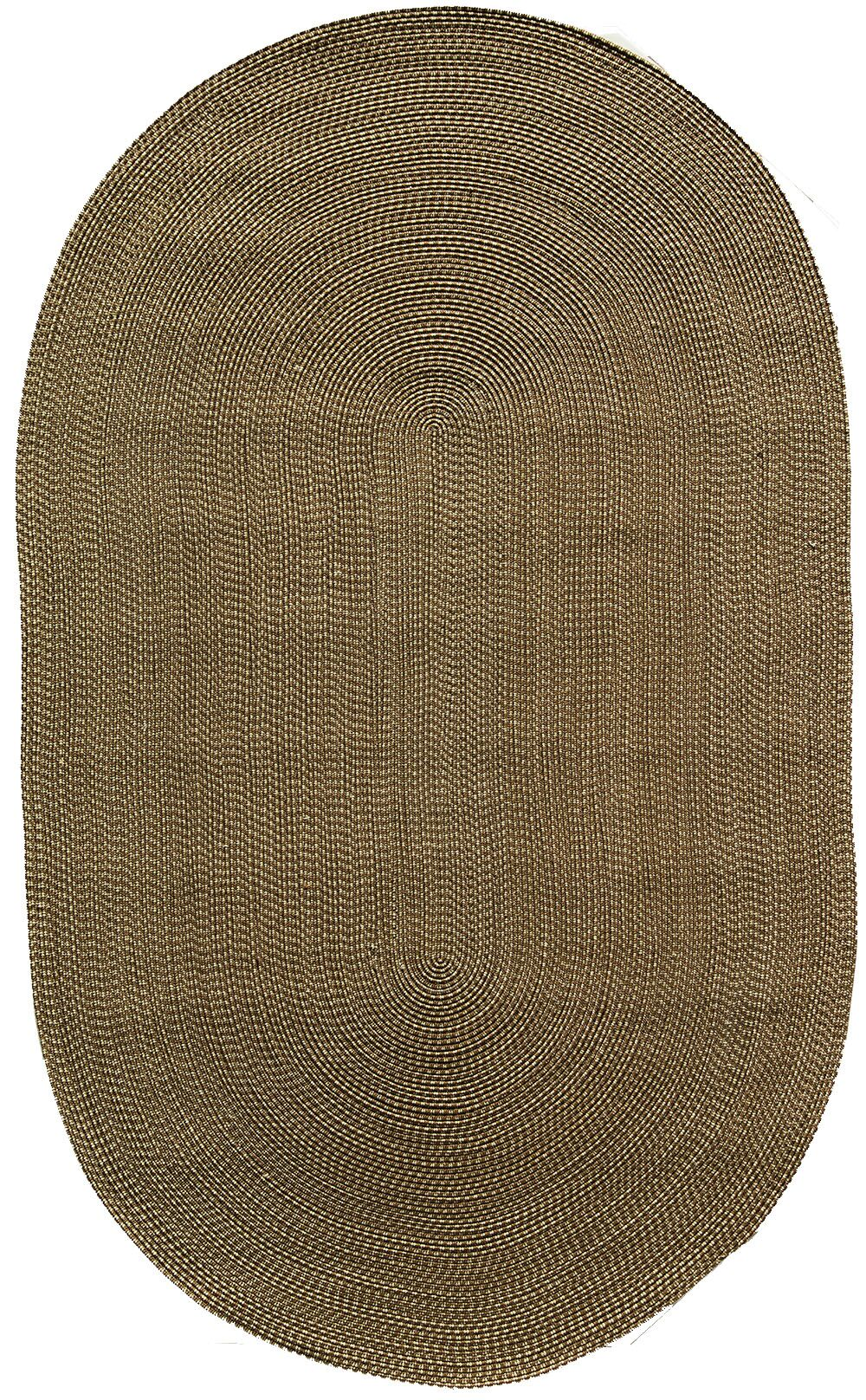 Colony Brown Area Rug Rug Size: Oval 5' x 8'