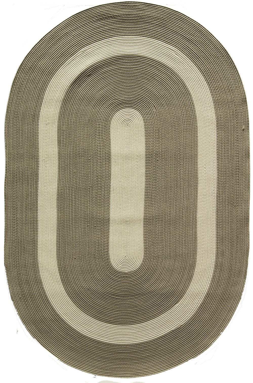 Plymouth Gray Area Rug Rug Size: Oval 8' x 11'